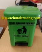 Bán thùng rác y tế, thùng rác y tế đạp chân, thùng rác y tế 15l