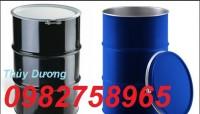 Bán thùng phuy sắt, thùng phuy đựng dầu, thùng phuy sắt 220l nắp mở