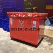 Thùng giữ lạnh 450L nhập khẩu thái lan hiệu bông sen nắp mở liền