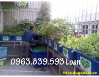 Thùng nhựa chữ nhật 750L 1 lớp nuôi cá, thùng nhựa 750L 2 lớp rẻ.