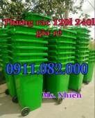 Thùng rác 240 lít giá rẻ tại kiên giang- chuyên cung cấp các mặt hàng thùng rác
