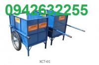 Cung cấp xe thu gom rác, xe đẩy rác, xe gom rác 500l giá rẻ