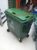 Bán xe gom rác loại lớn 450l-660l-1000l giá sĩ toàn quốc.
