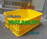 Thùng nhựa đặc giá rẻ, thùng nhựa hs017 giá rẻ,  thùng nhựa công nghiệp, thùng n