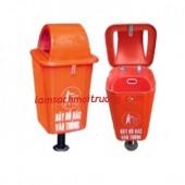 Bán thùng rác nhựa 60l, thùng rác công cộng, thùng rác nhựa Composite giá rẻ