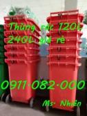 Phân phối thùng rác 240 lít giá rẻ tại tỉnh phú yên- lh 0911.082.000 Ms. Nhiên