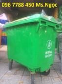 Bán thùng rác nhựa 660 lít giá sĩ toàn quốc.