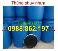 thùng phuy nhựa cũ giá rẻ,thùng phuy nhựa,thùng phuy, thùng phuy 100 lit, thùng