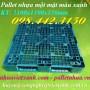 Pallet nhựa 1100x1100x150mm xanh dương mới 100‰ giá rẻ call 0984423150 Huyền