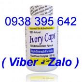 Thuốc trắng da Ivory Caps Glutathione 1500mg