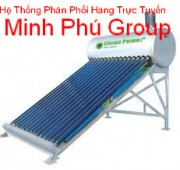 Máy nước nóng nâng lượng mặt trời Clean Power