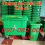 Sỉ lẻ thùng rác giá rẻ- nơi bán thùng rác 240 lít giá rẻ tại đồng tháp- 0911.082