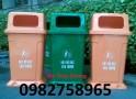 Thùng rác nắp hở, thùng rác 90l, thùng rác nhựa công nghiệp giá rẻ