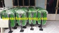 Thùng rác treo đơn, thùng rác công cộng, thùng rác nhựa Composite giá rẻ