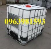 Cung cấp thùng chứa hóa chất, bồn đựng nước, bồn đựng hóa chất giá rẻ