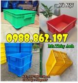 thùng nhựa có nắp B4, hộp nhựa B4, thùng nhựa công nghiệp giá rẻ, sản xuất nhựa