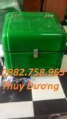 Cung cấp thùng giao hàng nhanh, thùng chở hàng sau xe máy, thùng giữ nhiệt mới