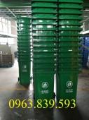 Thùng rác công cộng 120L - 240L - 660L - LH: 0963.839.593 Thanh Loan