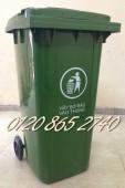 Thùng rác 240L, thùng rác nhựa 240L, thùng chứa rác 240L sỉ lẻ toàn quốc
