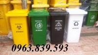 Bán thùng rác 2 bánh xe giá tốt - 0963.839.593 Thanh Loan