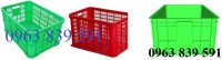 Rổ nhựa chữ nhật hdpe chất lượng tốt giá cả cạnh tranh 096 383 9591