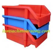 Bán hộp nhựa đặc cao 150, sóng nhựa đặc, khay đựng linh kiện giá rẻ