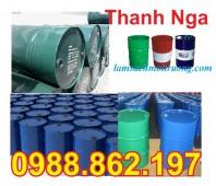 Thùng phuy, Thùng phuy 200 lit tại Hà Nội, thùng phuy đựng hóa chất giá rẻ,