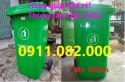 Thùng rác giá rẻ, thùng rác 120 lít 240 lít 660 lít màu xanh, cam, vàng giá tốt