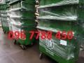Bán thùng đựng rác nhựa hdpe 660 lít giá sĩ toàn quốc.