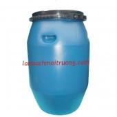 Thùng phuy nhựa 200l, thùng phuy nắp nhỏ, thùng phuy đựng hóa chất giá rẻ