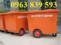Bán thùng rác composite, thùng rác công nghiệp, thùng đựng rác môi trường lớn