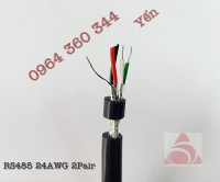 cáp tín hiệu vẵn xoắn 2 lớp chống nhiễu RS-485 Altek Kabel