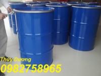 Thùng phuy sắt 200l, thùng phuy nắp kín, thùng phuy đựng dầu giá rẻ