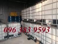 Tank nhựa 1000L, thùng nhựa đựng hóa chất công nghiệp giá rẻ
