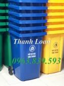 Thùng rác công nghiệp, bán thùng rác nhập khẩu 120L, 240L siêu bền - 0963839593
